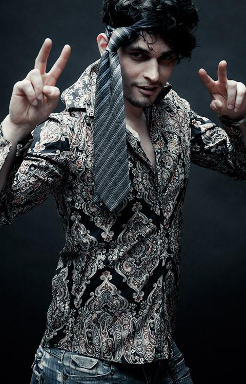 Fashion Portrait Kravatte