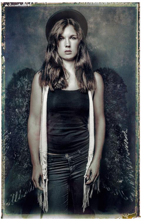 Fashion Portrait Engel